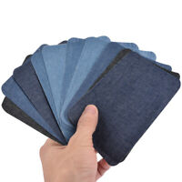 Peel N Stick Patches Assorted Sizes 8//Pkg Assorted Denim /& Twill 075691003821