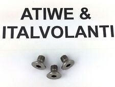 ATIWE steering wheel boss hub kit adapter bolts x 3 . NEW. Stainless steel.