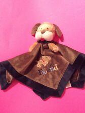 Carters Baby Boy Brown Puppy Dog Blankey Blanket Soft Cuddle Plush Toy Security