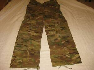 MULTICAM BUTTON FLY PANTS KNEE PAD OPENING FR MED REG NWT 2832