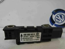 Volkswagen Touareg 2002-2007 Drivers OSR Rear Airbag Impact Sensor 4B0959643E
