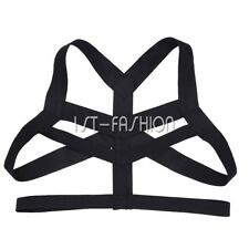 Men Restrain Costume Gay Body Chest Harness Halloween Cosplay Party Fancy Dress