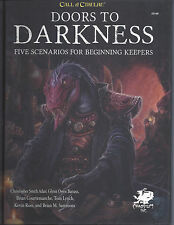 Call of Cthulhu Doors to Darkness HC  NEW  Chaosium COC  5 Scenarios