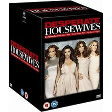 Desperate Housewives TV Series 1-8 Complete Box Set Collection DVD Brand New