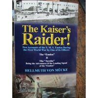HMAS SYDNEY Kaiser's Raider Accounts of the Emden from German Officers WW1 Book