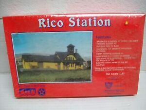 HO Scale  HC 807  Rico Station Building Kit