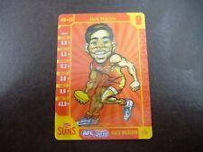 Teamcoach 2015 MAGIC Wild CARD MW-08 JACK MARTIN GOLD COAST SUNS AFL