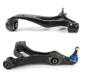 Pair Set 2 Front Lower Control Arms & Ball Joints Mevotech For Touareg Cayenne