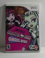 Monster High Ghoul Spirit (Nintendo Wii, 2011) COMPLETE