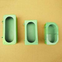 LD_ QA_ LC_ Pet Parrot Bird Cage Mini Plastic Food Water Feeder Bowl Bathing F