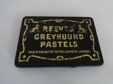 Vintage Tin of Reeves Greyhound Pastels original
