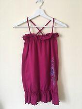 Robe rose à bretelles fille 8 Ans