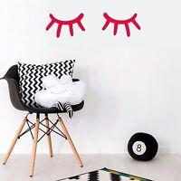 Lashes Wall Stickers Sleepy Eyes Art Decor Stiker Decal Modern IKEA