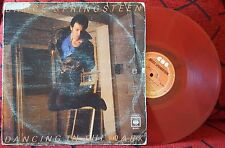 """BRUCE SPRINGSTEEN **Dancing In The Dark** VERY RARE 1985 Mexican RED 12"""" Single"""