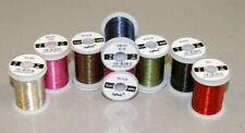 Sybai Flat Coloured Fly Tying Wire, Medium £2.75