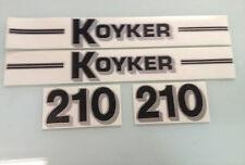 Koyker 210 Loader Decals