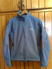 Women's  Berghaus Elements Softshell Windproof Waterproof  Blue Jacket  Size 12