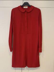 Saint Laurent Red Dress FR 38/ UK 10