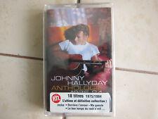 K7 cassette audio johnny hallyday neuve scellée anthologie 1975/84 compilation