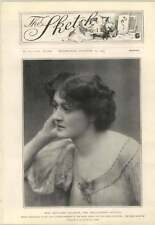 1904 Miss Margaret Halstan Well-Known Actress Engaged To John Morgan