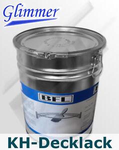 25 kg Kunstharz-Eisenglimmer-Lack, dekorativer Langzeitschutz  10,02 €/kg