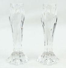 Nwot Lenox Fine Crystal Candlesticks