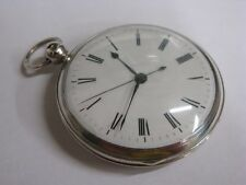 Montre à seconde indépendante morte 1820 Jumping dead beat second antique watch