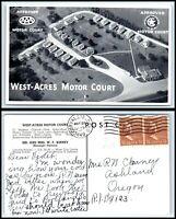 INDIANA Postcard - Fort Wayne, West Acres Motor Court N55