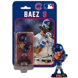 "Javier Baez Chicago Cubs Imports Dragon Baseball Bobblehead Figure 4"""
