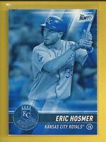 Eric Hosmer 2017 Topps Bunt BLUE Parallel Card # 143 Kansas City Royals Baseball