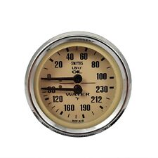 Smiths Magnolia Dual Oil and Water Gauge For Classic Mini LUSIB130MG
