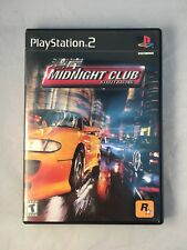 Midnight Club w/ booklet - RockStar - for Playstation 2 - Excellent Disc