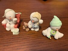 Sarah's Attic Snowonders Age O,1,2, Set Of 3