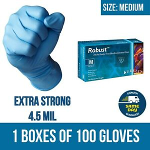Disposable Gloves Nitrile 100/200 Vinyl Medical Latex/Powder free Tattoo Artists