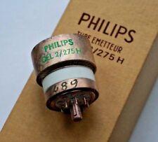 PHILIPS QEL 2/275H 4CX250F Valvola Valvola di trasmissione NUOVO VECCHIO STOCK