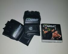 Les Mills Body Combat 5 DVD set and Gloves Bodycombat Bundle