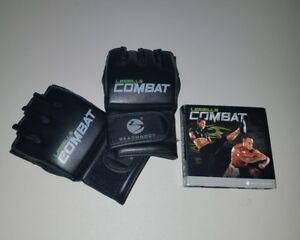 Les Mills Body Combat 5 DVD set and Gloves Bodycombat Bundle