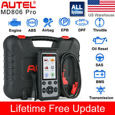 Autel MD806 Pro All System Auto Diagnostic Tool OBD2 Scanner for ABS SRS EPB DPF