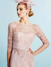 Veni Infantino Mother of the Bride Lace Dress & Chiffon Coat BNWT Size 16 £499