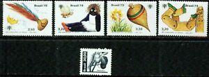 BRAZIL  - 1979-1982 – SMALL LOT  – VF  **