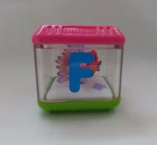 """Fisher Price Peek A Boo Block Alphabet Letter """"F"""" for Fish Replacement Toy"""