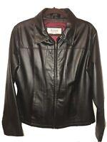 Wilson's Women's Genuine Leather Jacket Black Size L