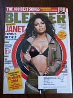 Exclusive Janet Jackson Exposes Herself Blender Magazine June/July 2004 Issue