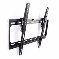 SLIM LCD LED PLASMA FLAT TILT TV WALL MOUNT BRACKET 24 30 32 37 42 45 46 47 50