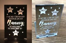 Personalised Gifts For Her Mum Mummy Nanny Nana Granny Aunty Candle Holder Gifts