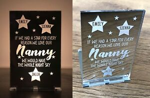 Personalised Mothers Day Gifts For Her Mum Mummy Nanny Nana Candle Holder Gift