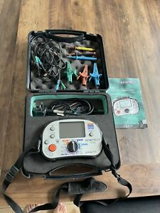 Kewtech KT63 5-in-1 Multifunction Tester - Good condition with accessories