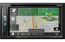 NEW Pioneer AVIC-W6400NEX Double 2 DIN DVD Player GPS Bluetooth HD WiFi CarPlay