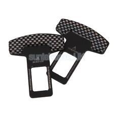 2X Seat Belt Buckle Guard Car Seatbelt Safety Cover Stopper Alarm Canceler