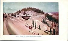 Railroad Postcard Above the Loop Moffat Line Colorado CO Bridge Mountains 1900s